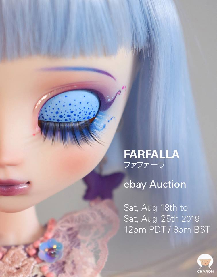 Charon Dolls Custom Pullip Farfalla Now Up For Auction Pullips And Junk